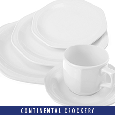 Continental Crockery