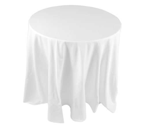 210 & Trestle Table Lycra Cover (White) - Silver Spoon Hire